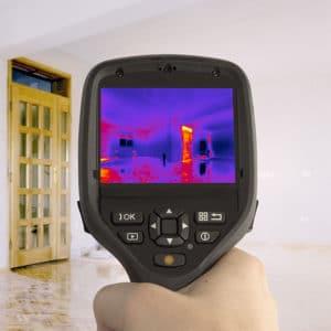 Caméra infrarouge pour inspection de bâtiment